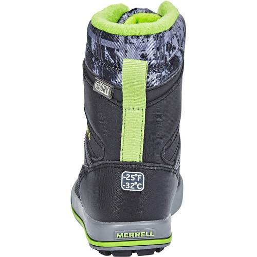 Vente Pour Pas Cher Réduction Très Pas Cher Merrell Snow Bank 2.0 WP - Chaussures Enfant - gris gpw1Yy